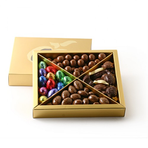 "Coffret 4 compartiments ""Tout Choco"" 340g"