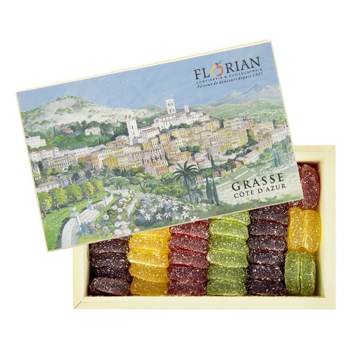 Coffret Grasse - pâtes de fruits