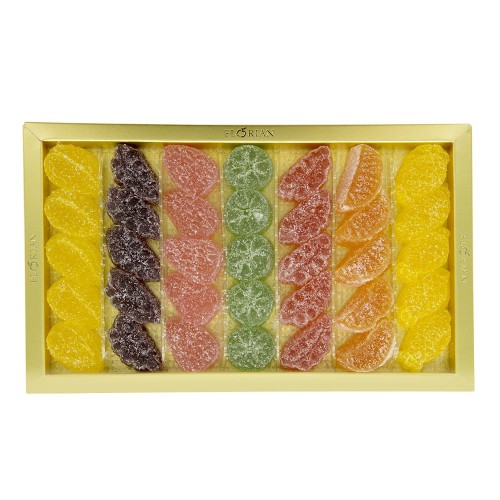 Coffret de gels de fruits assortis