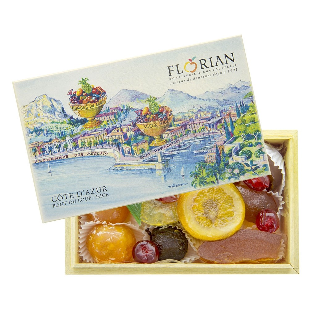 Coffret Côte d'Azur - Fruits Confits assortis