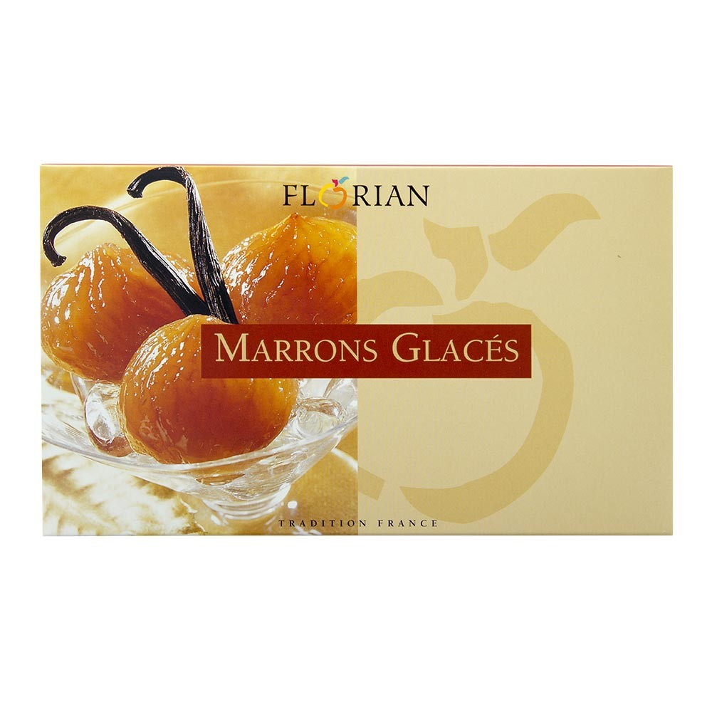 Coffret de 12 marrons glacés